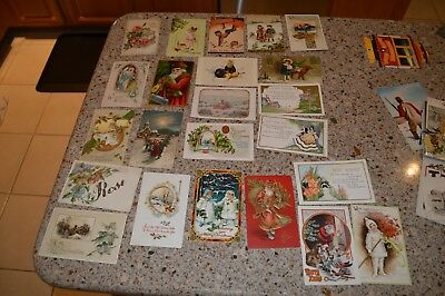 Nice Lot of 80 Vintage/Antique Greeting Cards Early 20th Century - No Reserve!
