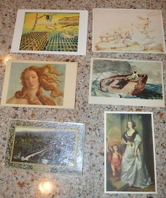 Nice Lot of 77 Vintage Postcards Early 20th Century (Fine Art) - No Reserve!