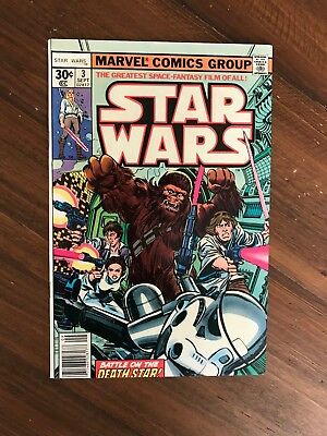 Star Wars # 3 - Bronze Age - Beautiful Condition - VF