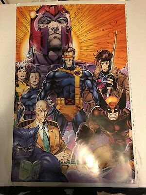 VINTAGE (X-Men) Poster 22 X 34 1993/VERY GOOD CONDITION Marvel Comic / JIM LEE