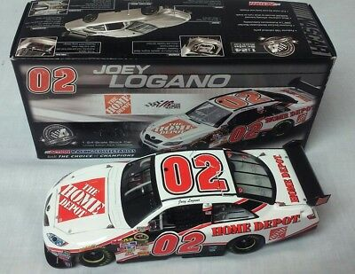 Joey Lagano 2008 Rookie #02 The Home Depot Camry Diecast RARE NASCAR 1st 1/24