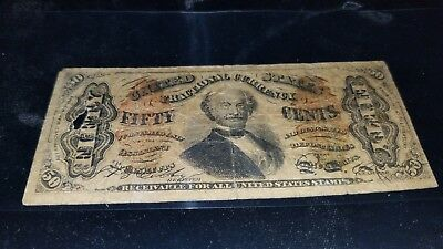 FR 1336 Fractional 50 Cents Third Issue ((RARE)) Circulated