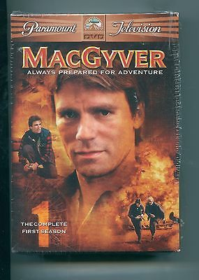 MacGyver - The Complete First Season (DVD, 2005, 6-Disc Set) Brand New / SEALED