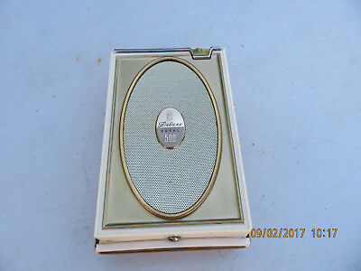 Vintage 1960s Zenith Deluxe Royal 500 Portable 8 Transistor AM Radio WORKS!!