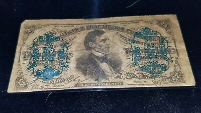 25 Cent Third Issue Fractional FR#1294 CIRC RARE LOOK at the pics