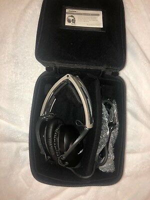 Bose Aviation Headset X - Unused with 6-pin Connector