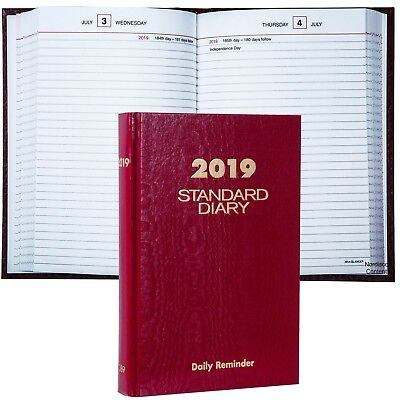 """2019 At-A-Glance Standard Diary SD389 Daily Reminder, 5.75 x 8.25"""""""