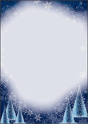 Sigel DP017 A4 Night Sky Christmas Motif Papers Pack of 100