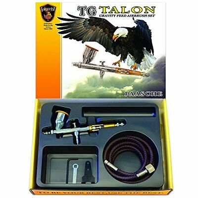 Paasche Airbrush Double Action Gravity Feed Airbrush, Multi-Colour