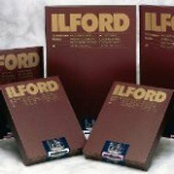 Ilford Pack of 10 Sheets of photo Paper 50.8 x 61 cm, White