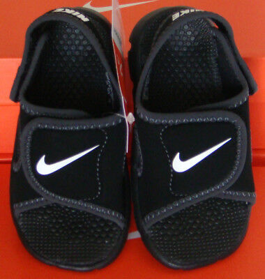 6f12c634ccb0 BABY TODDLERS NIKE Sunray Adjust 4 (TD) Slide Sandals Shoes 386519 ...