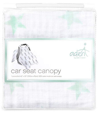Aden By Anais Car Seat Canopy 100 Cotton Muslin