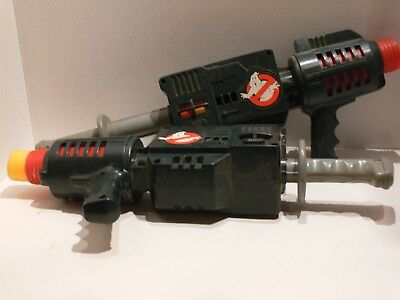 Lot of (2) Ghostbusters, Nerf Guns, (1) Nerf Bullet, 1984 Colombia Pictures, Mex