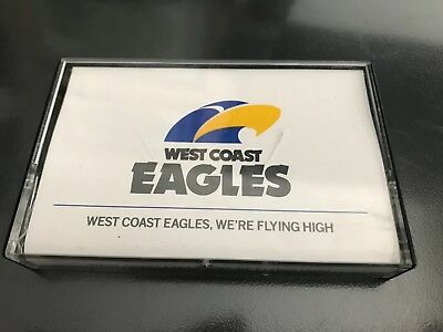"West Coast Eagles Theme Song ""we're Flying High"" Cassette"