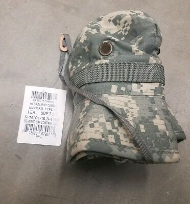 Hat, Sun, Army Combat Uniform Type IV  Boonie Size 7 3/8 New With Tags