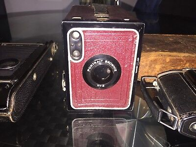 old antique cameras