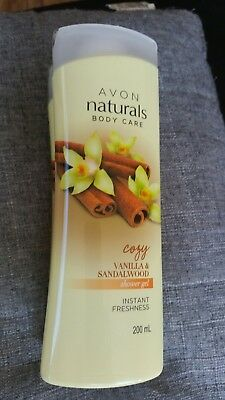 Avon naturals Shower Gel  Vanilla and Sandalwood