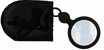 digiphot Magnifier 8X4X with Built-in LED LightBlack