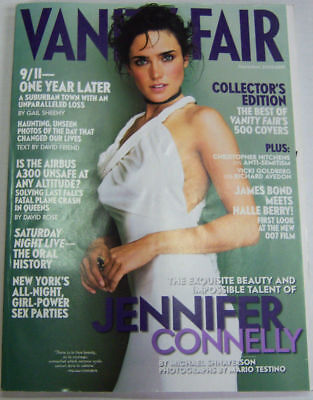Vanity Fair Magazine Jennifer Connelly, 9/11 On Year Later Sept 2002