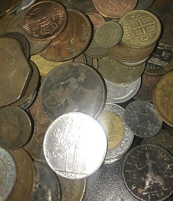 1/4 Pound Lot Of World Coins! Unsearched!!