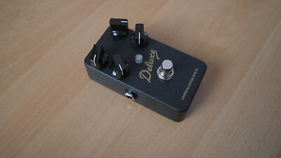 Lovepedal Blackface Deluxe 4-Knob Overdrive Pedal