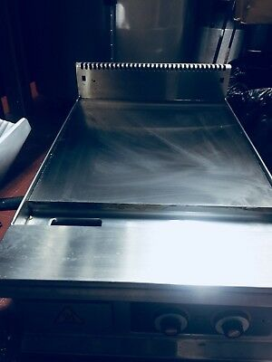 Electric Stainless Steel Griddle Grill BBQ Thermometer Hot Plate