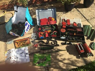 Job Lot Of Old Meccano