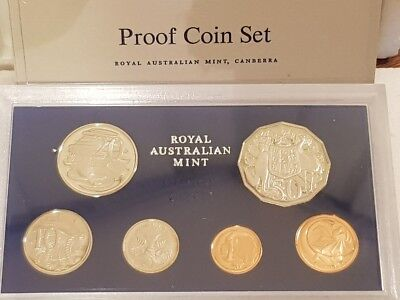 AUSTRALIA - 1978 - PROOF COIN SET - Still in original foams