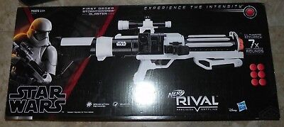 Star Wars First Order Stormtrooper Nerf Rival Blaster Brand new 2018 Cosplay