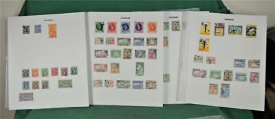 Zanzibar 7 Pages  Stamps  H/m & Used  (N8)