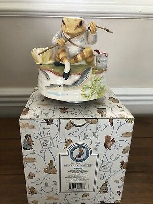 Beatrix Potter Jeremey Fisher Music Box