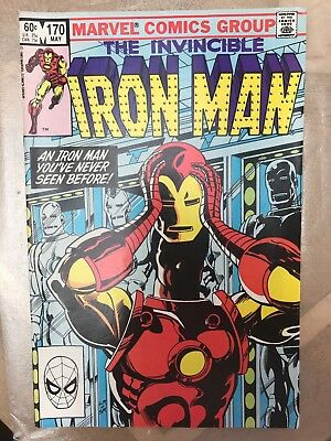 Marvel Comics - THE INVINCIBLE IRON-MAN #170 (MAY1983)