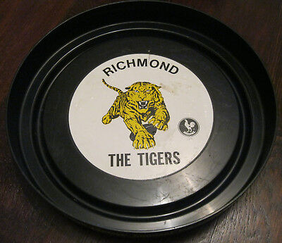 Rare 1970s Courage Draught Richmond Tigers VFL Drinks Tray