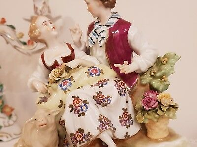 Continental Porcelain Figurine Group