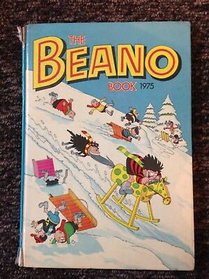 Beano Annual 1975 - Good/Poor Condition (BY33)