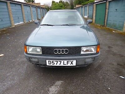 Audi 80 unfinished project classic cars