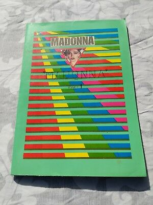 MADONNA - Unique Scrapbook from the 80s - 1 of 4