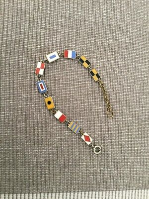 Altes Emailliertes Armband