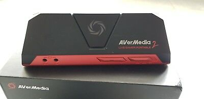 Avermedia Live Gamer Portable 2 Game Capture Card for Plug and Play Streaming