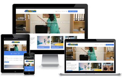 Responsive Cleaning Services Business Company WordPress Website Theme Template