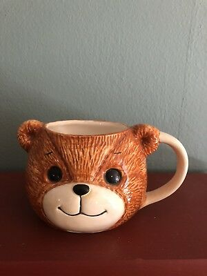 Lucy And Me Bear Head Mug Lucy Rigg 1982