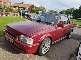 ford escort calipso cabriolet 1990