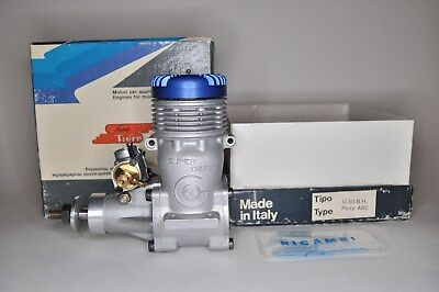 Super Tigre G.60 PerryABC Blue Head RC engine Made in Italywith no muffler
