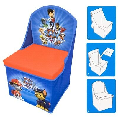 paw patrol kids chair Boys BNIP