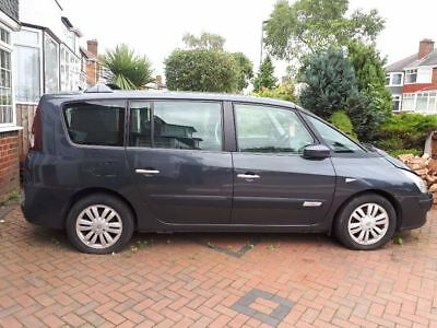 Renault grand espace 2.2 dci initiale. spares or repair .please read decription
