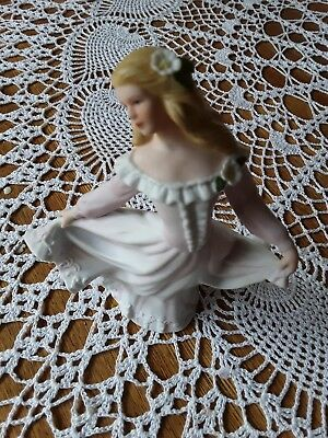 Home Interiors & Gifts Figurine Heather 1999 Masterpiece Porcelain HOMCO 88016
