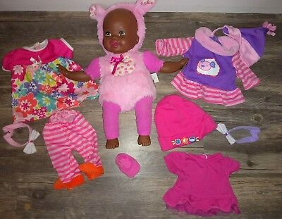 Mattel Little Mommy Baby Doll Romper Hoodie plus clothes 2013