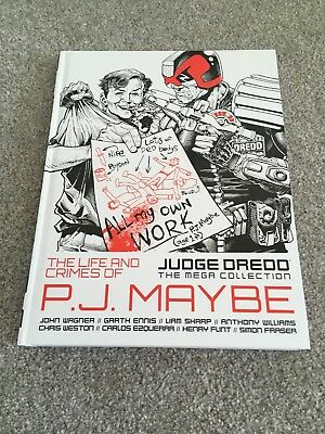 2000AD: JUDGE DREDD THE MEGA COLLECTION - Part 28 - PJ MAYBE - EXCELLENT COND