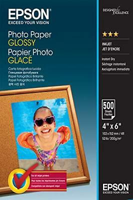 Epson C13S042549 10 x 15 cm Glossy Photo Paper Pack of 500