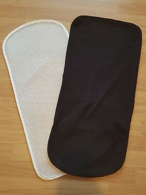 Bugaboo Gecko carrycot mattress cover and topper only black